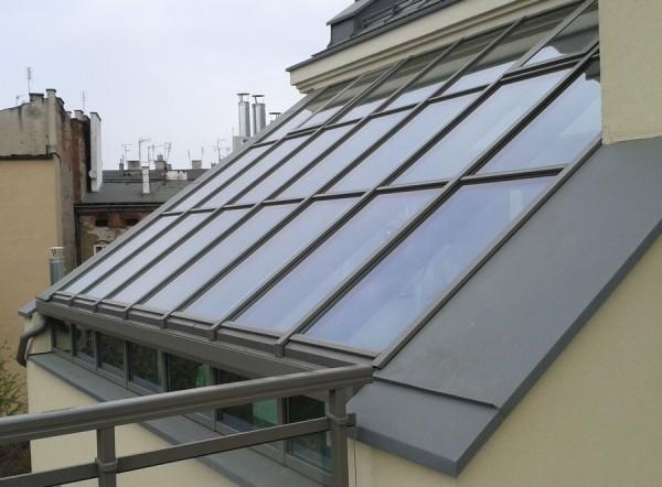 Dach szklany