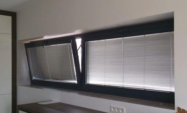 Okno aluminiowe uchylne