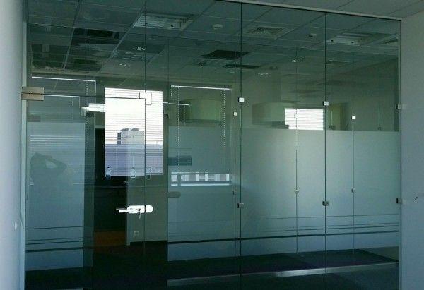 Ścianki szklane